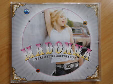 PROMO Maxi-CD Madonna-What It Feels Like For A Girl Maverick (pr02461)