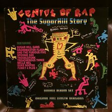 Genius of Rap The Sugar Hill Story 2 LP BLAT (EX/NM Condition)