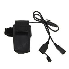 5V 4x18650 Rechargeable Battery Pack 6400mAh For LED Bicycle Bike Lamp Headlight