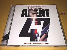 HITMAN AGENT 47 soundtrack CD marco BELTRAMI score rupert friend zachary quinto