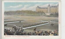 (104763) ak Dresde, alumbre-plaza con el tirador-Regimiento, hace 1905
