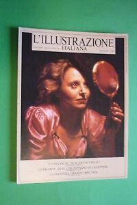 L'Illustration Italian 38/1987 Hanna Schygulla Edouard Boubat Paola Van Kampen