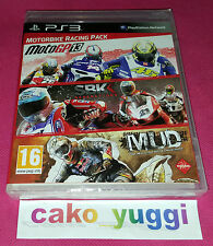 MOTORBIKE RACING TRIPLE PACK SONY PS3 NEUF SOUS BLISTER VERSION 100% FRANCAISE
