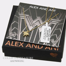 Authentic Alex and Ani Wonder Woman,Small Motif Star 14kt GP NECKLACE