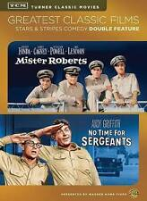 Silver Screen Icons: Mister Roberts/No Time for Sergeants (DVD, 2014, 2-Disc...
