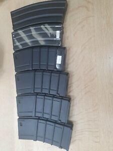 6 x M16/M4 High-Cap Magazine - Multiple Makes - Airsoft
