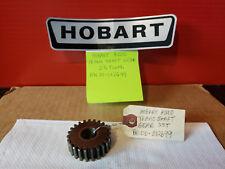 Hobart 20 Qt Mixer Parts 23 Tooth Transmission Shaft Gear Fits Hobart A200