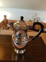 Good vintage Mappin & Webb Mappin Plate Silver Plated on Copper Coffee Pot