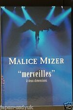 "JAPAN Malice Mizer Photo Book ""merveilles"""