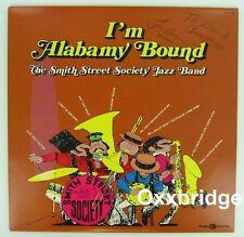 SMITH STREET SOCIETY JAZZ BAND I'm Alabamy Bound PRIVATE JAZZ LP Vinyl NM Signed