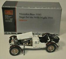 CMC 1:18 Mercedes-Benz SSKL White elephant 1931