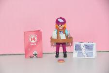 Playmobil 9444 Figures Girls Serie 14 Snackverkäuferin Frau mit Bauchladen