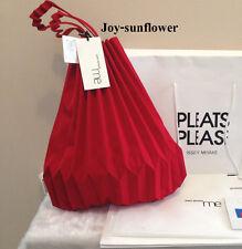 NWT Auth 2017 Japan Pleats Please Me Issey Miyake (Bao Bao) - Red Handbag Bag