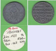 Jeton 1727 Polen aus Slg. Horn (Zinnabguß?) (Tb.29) stampsdealer