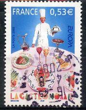 STAMP / TIMBRE FRANCE OBLITERE N° 3784 LA GASTRONOMIE