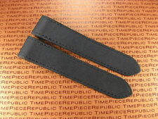 23mm Deployment Leather Strap Large BK TOILE Watch Band CARTIER SANTOS 100 XL X1