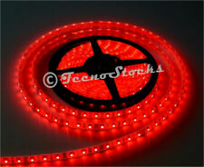 Striscia LED Rossi SMD 3528 300 LED 5 Metri Strip Bobina IMPERMEABILE Red