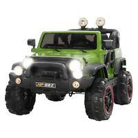 12V Kids Ride on Cars Electric Battery Power Wheel Remote Control 4 Speed Green