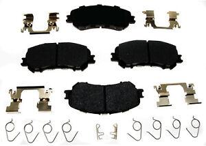 Disc Brake Pad Set-Ceramic Disc Brake Pad Front ACDelco Pro Brakes 17D1737CH