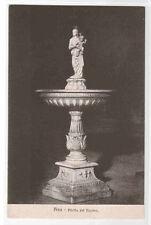 Piletta del Duomo Sculpture Pisa Italy 1910s postcard