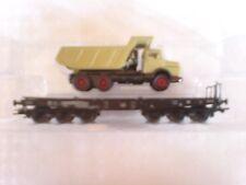 Märklin 48692 - 01 Schwerlastwagen mit LKW Flachwagen 6 Achsen mit KKK in OVP