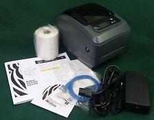 Zebra GX420T Thermal Label Printer (DT/TT) Wireless, USB, Serial GX42-101710-000