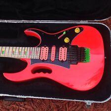 Ibanez MIJ RG570 Custom JEM SK Tribute W Hardshell Case Dimarzio Amazing!