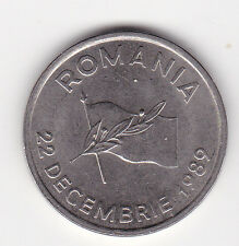 10 Lei Rumänien 1991 22 Dezember 1989 Unabhängigkeit Romania