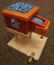 Thomas the tank engine & Friends WOODEN BLUE MOUNTAIN QUARRY GRAVEL LOADER coal