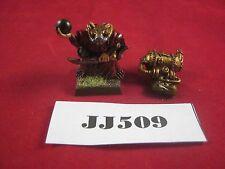 OOP Warhammer  Skaven Poison Wind Globadier 1995 Metal Ref JJ509