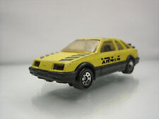 Diecast Matchbox Ford Sierra XR-4i 4*4 1983 Yellow Good Condition