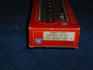 IHC  HO SCALE #6751 CORRUGATED SIDE COACH R.D.G. CRUSADER UNDECORATED
