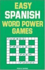Easy Spanish Word Power Games (Language - Spanish)