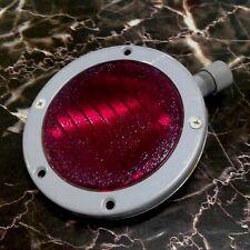 RED Grimes Flat Circle Aircraft Light AN 3030-7A 28 Volt Instrument Panel Parts