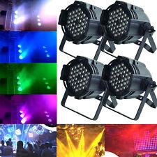4Pcs DJ PAR 64 LED STAGE LIGHT RGBW 54x3w 162watt DMX512 DJ DISCO PARTY SHOW LOT