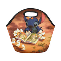 Neoprene Lunch Bag Lilo and Stitch Best Lunch Box/Lunch Tote Bags