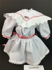 American Girl Samantha White Tea Party~Holiday Dress/Outfit Collar~Historical