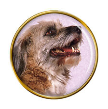 Norfolk Terrier Lapel Pin Badge