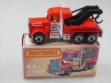 61-C Peterbilt Wreck Truck - 53175 Matchbox Superfast Lesney