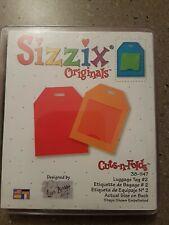 Sizzix Original Die - Luggage Tag scrapbooking
