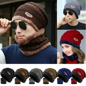 2 Pieces Womens Winter Hats Warm Cable Knit Newsboy Cap Ribbed Visor Beanie Hat and Scarf Set for Women