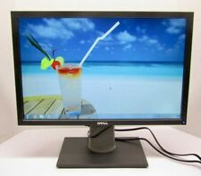 """Dell 22"""" P2210t Widescreen LCD Monitor Display VGA DVI-D DP 1680x1050 Tested"""