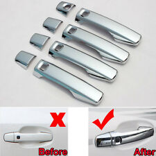 Car Side Door Handle Cover Trim With 5 Holes for Land Cruiser LC200 2008-2014