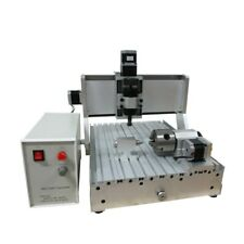 Ly Mini Cnc 3020 3040 Wood Router Milling Machine 4 Axis 500w Engraving Machine