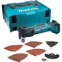 Makita DTM51ZJX7 18v Cordless Multi Tool Body In Makpac Case With 23 Accessories