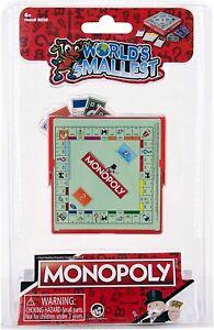 World's Smallest Monopoly Board Game - Super Impulse