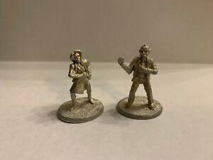 Detectives (2) | Archetype Metal Miniatures | OOP Ral Partha 20-575 | Shadowrun