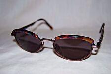 FOSSIL Greta CS2012PUR 53[]17-140 Sunglasses Multi-Colored Tortoise Shell Unique