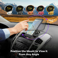 Magnetic Car Mount Ball Dock Holder For Phone Tablet 360 Universal Degree A6X5