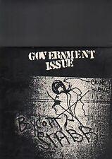GOVERNMENT ISSUE - boycott stabb LP
